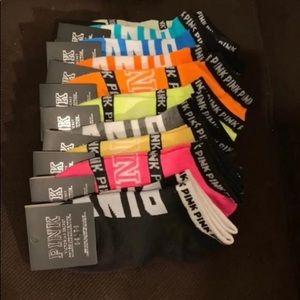 Brand New VS PINK Socks Bundle of 10